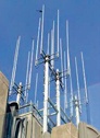 The single pole monopole antenna