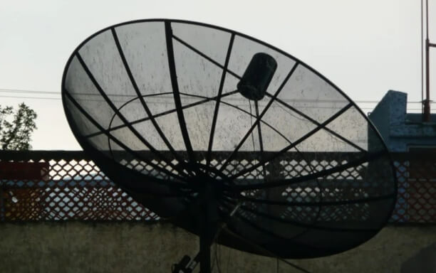 What are satellite dishes or parabolic dishes